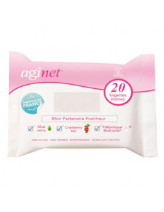 Aginet x20 lingettes intimes  - 1