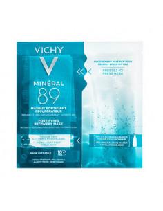 Vichy Minéral 89 Masque Fortifiant Récupérateur. x1 masque tissu Vichy - 1