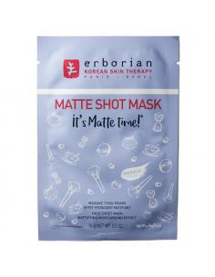 Erborian Matte Shot Mask Masque Tissu Visage Hydratant Matifiant. 1x15g Erborian - 1