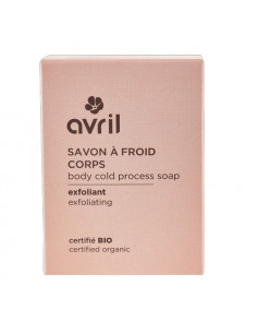 Avril Savon à Froid Corps Exfoliant Bio. 100g Avril - 1