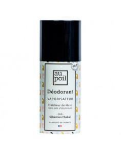 Au Poil Déodorant Parfumant Homme Fraîcheur de Musc Vaporisateur 100ml Au Poil - 1