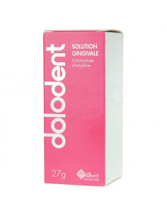 Dolodent Solution Gingivale Chlorhydrate d'amyléine Flacon pompe 27g