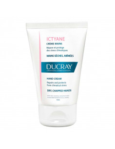 Ducray Ictyane Crème Mains Sèches Abîmées 50ml Ducray - 1