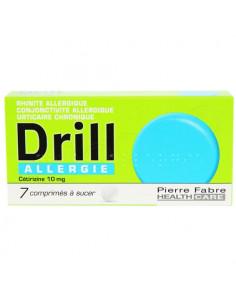 Drill Allergie Cétirizine 10mg