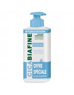 Cicabiafine Baume Corporel Hydratant Quotidien. Lot 2x400ml Cicabiafine - 1