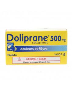 Doliprane paracétamol 500 mg 16 gélules Doliprane - 1