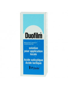 Duofilm Solution pour application locale flacon 15ml