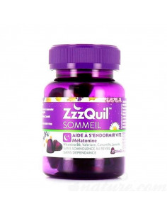 ZzzQuil Sommeil Mélatonine 30 gommes  - 1