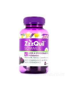 ZzzQuil Sommeil Mélatonine 60 gommes  - 1