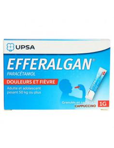EFFERALGAN 1 g Cappuccino 8 sachets