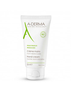 Aderma Crème Mains Peaux Fragiles 50ml Aderma - 1