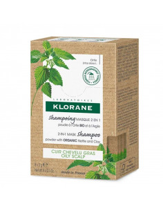 Klorane Shampooing Masque Ortie 2 en 1 - 8 sachets Klorane - 1