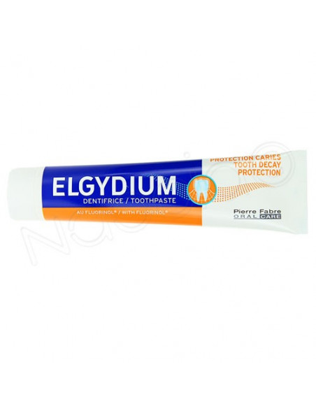 Elgydium Dentifrice protection caries. Tube 75ml