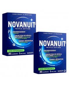 Novanuit Triple Action Lot 2x30 comprimés Sanofi Aventis - 1