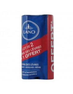 Laino Pro Intense Soin des Lèvres Stick 4g - Lot 2 + 1 offert Laino - 1