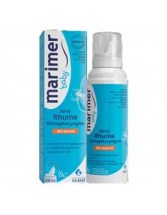 Marimer Baby Spray Nez bouché Rhume Rhinopharyngite 100ml Gilbert - 1