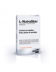 L-NutraSkin Nutrition Peau Sèche et Sensible 42 Capsules NHCO - 1