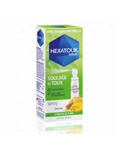 Hexatoux Spray Goût Miel 30ml