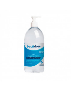 flacon pompe 500ml gel hydroalcoolique bactidose