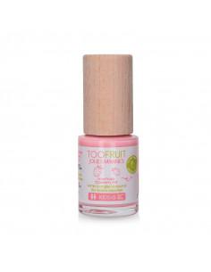 flacon vernis à ongles fraise biosourcé jolies mimines toofruit couleur rose