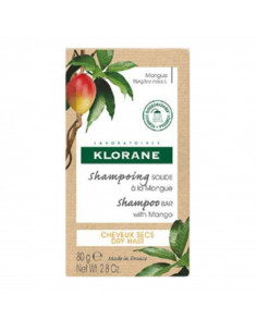 pain shampooing solide mangue klorane