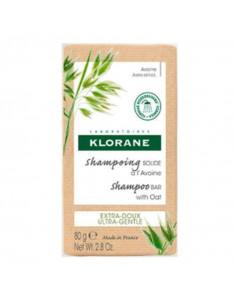 pain shampooing solide à l'avoine klorane