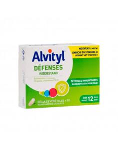 boite de 30 gélules Alvityl défenses immunitaires vitamine D