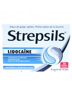 Strepsil Lidocaïne, 36 pastilles à sucer