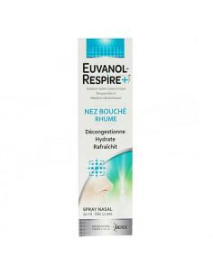 Euvanol Respire+ Nez Bouché Rhume. Spray nasal 20ml