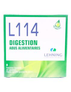 boîte de L114 Digestion solution buvable en gouttes