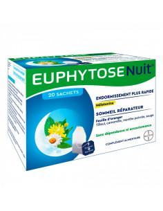Euphytose Nuit 20 Sachets à infuser Bayer - 1