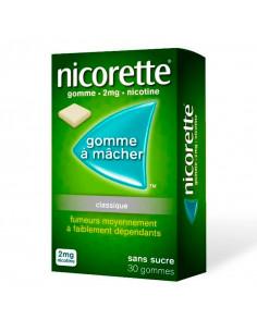Nicorette 2mg, Classique Sans Sucre, Gommes