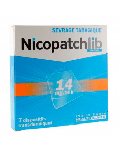 Nicopatch 14mg/24h, Sevrage tabagique, 7 patchs
