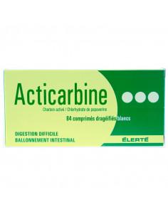 Acticarbine, charbon activé et papavérine, digestion difficile, B/84 comprimés  - 1