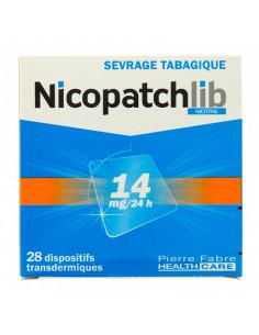Nicopatch 14 mg/24h, Nicotine, 28 Patchs