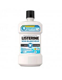 listerine bain de bouche soin blancheur 500ml