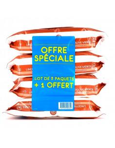 Gifrer Lingettes Nettoyantes à l'Huile d'Olive Bio Lot 3 + 1 offert