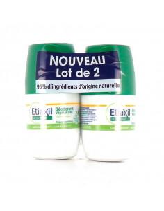 Etiaxil Déodorant Végétal 24h Lot 2x50ml