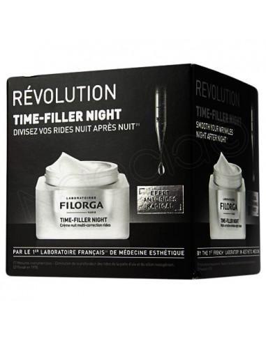 Filorga Time-Filler Night Crème Nuit Multi-Correction Rides - crème de nuit anti-rides et anti-âge