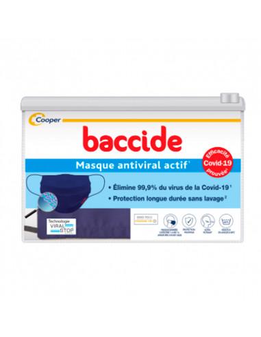 Baccide Masque Antiviral Actif Lavable Catégorie 1