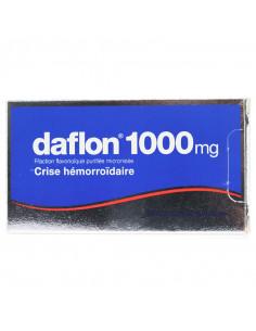 Daflon 1000mg, Crises hémorroïdaires, 18 comprimés