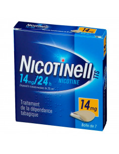 Nicotinell TTS 14mg/24h, 7 dispositifs transdermiques