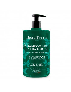 Beauterra Shampooing Extra Doux Fortifiant Cheveux Normaux 750ml