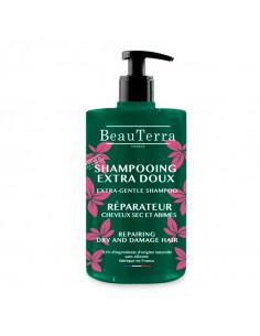 Beauterra Shampooing Extra Doux Réparateur Cheveux secs 750ml