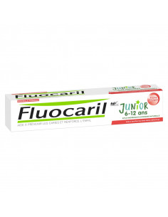 Fluocaril Junior 6-12 ans Dentifrice Fruits Rouges 75ml