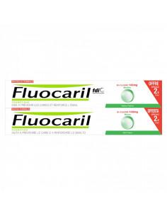 Fluocaril Bi-Fluoré 145mg Menthe Lot 2x75ml