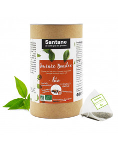 Santane tisane thé orange journée boostée