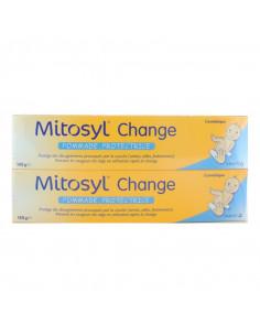 Mitosyl Change Pommade Protectrice Lot 2x145g boîte jaune et bleue