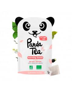 Panda Tea Morning Boost 28 jours Détox Thé Bio 28 sachets Panda Tea - 1
