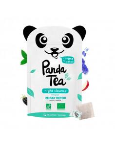 Panda Tea Night Cleanse 28 jours Détox Infusion Bio 28 sachets